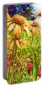 Wildflowers In The Wilds Of Colorado Portable Battery Charger