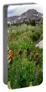 Wildflowers On Display Portable Battery Charger