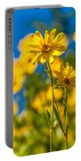 Wildflowers Standing Out Portable Battery Charger