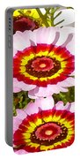 Wildflowers Tall Portable Battery Charger