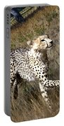 Wildlife Cheetah Portable Battery Charger