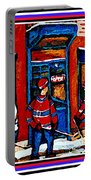 Wilenskys Hockey Art Posters Prints Cards Originals Commission Montreal Paintings Contact C Spandau Portable Battery Charger