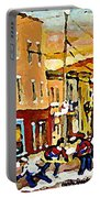 Wilenskys Hockey Paintings Montreal Commissions Originals Prints Contact Artist Carole Spandau  Portable Battery Charger
