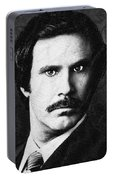 Will Ferrell Anchorman The Legend Of Ron Burgundy Drawing Portable Battery Charger