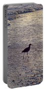 Willet In The Waves Portable Battery Charger