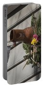 Williamsburg Bird Bottle 1 Portable Battery Charger by Teresa Mucha