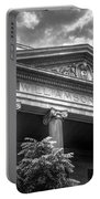Williamson County Courthouse Bw Portable Battery Charger