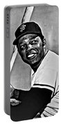 Willie Mays Painting Portable Battery Charger