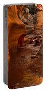 Willis Creek Slot Canyon Portable Battery Charger by Robert Bales