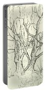 Willows By The Lake Portable Battery Charger