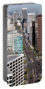Wilshire Blvd Los Angeles California Portable Battery Charger