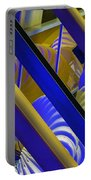 Wind Abstract No2 Horz Portable Battery Charger