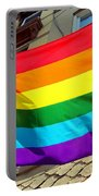 Wind Blown Pride Portable Battery Charger