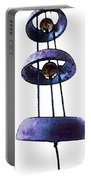 Wind Chime 8 Portable Battery Charger by Sharon Cummings