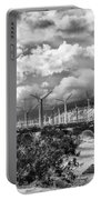 Wind Dancer Palm Springs Portable Battery Charger by William Dey