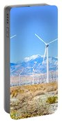 Wind Farm Palm Springs Portable Battery Charger