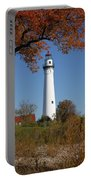 Wind Point Lighthouse 74 Portable Battery Charger