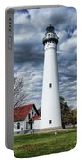 Wind Point Lighthouse Portable Battery Charger