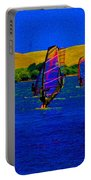 Wind Surf Lessons Portable Battery Charger