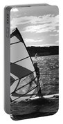 Wind Surfer II Bw Portable Battery Charger