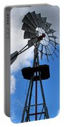 Windmill And Sky Portable Battery Charger