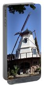 Windmill In Solvang Portable Battery Charger