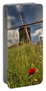 Windmill Poppies  Portable Battery Charger