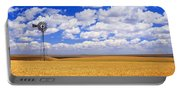 Windmill Wheat Field, Othello Portable Battery Charger