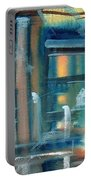 Window Abstract Portable Battery Charger