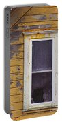 Window In Abandoned House Portable Battery Charger by Jill Battaglia