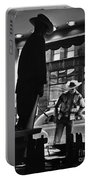 Window Shopping Cowboy Portable Battery Charger