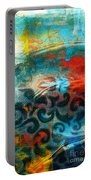 Winds Of Change - Abstract Art Portable Battery Charger