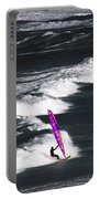 Windsurfing Man Portable Battery Charger