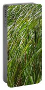 Windswept Cattails Portable Battery Charger