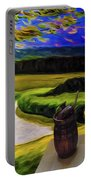 Windy Autumn With Still Life 05 Portable Battery Charger
