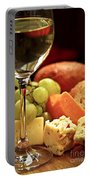 Wine And Cheese Portable Battery Charger
