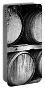 Wine Barrels Portable Battery Charger by Scott Pellegrin