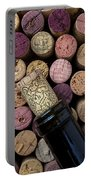 Wine Bottle With Corks Portable Battery Charger