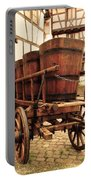 Wine Cart In Alsace France Portable Battery Charger