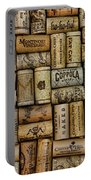 Wine Corks After The Wine Tasting Portable Battery Charger by Paul Ward