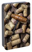 Wine Corks Celebration Portable Battery Charger