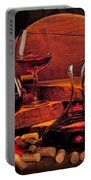 Wine Still Life Portable Battery Charger