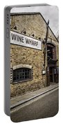 Wine Wharf Portable Battery Charger by Heather Applegate
