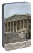 Wing Of The Capitol - Washington Dc  Portable Battery Charger