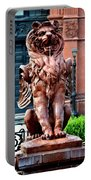 Winged Lion Fountain Portable Battery Charger