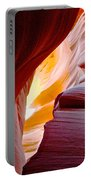 Wink In Lower Antelope Canyon In Page-arizona Portable Battery Charger