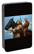 Winnetou And Old Shatterhand Portable Battery Charger