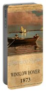 Winslow Homer 1 Portable Battery Charger