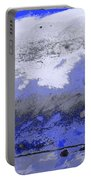 Winter Abstract Portable Battery Charger