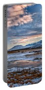 Winter Afternoon Portable Battery Charger